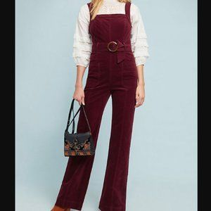 Anthropologie Pilcro Corduroy Jumpsuit Size 6